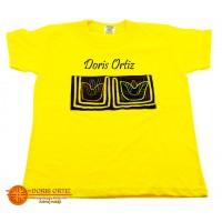 Camisa con Mola Amarilla